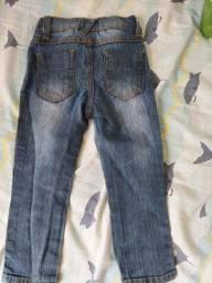 Calça jeans menino 2 anos