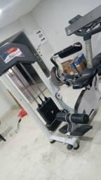 Máquina abdominal de academia barata