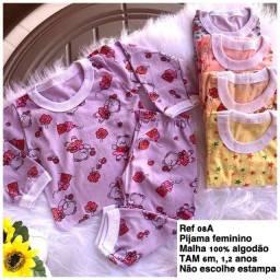 Pijama Infantil feminino/ masculino