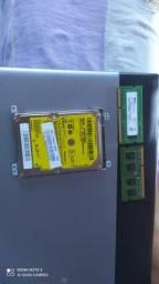 Vende se HD e duas placas de memoria