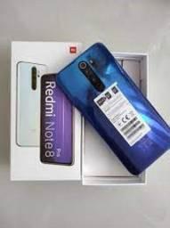 Note 8 pro 64gb+6 GB Ram Cinza/Branco/Azul China