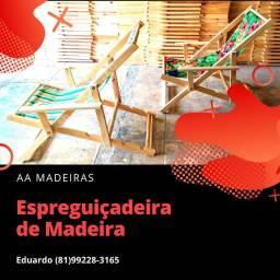 Espreguiçadeiras de Madeira