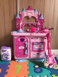 Brinquedo cozinha das princesas