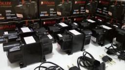 Transformador Fiolux Premium 1010va (750w) AcCartão Entregamos Garantia 1 Ano Cabo 1 Metro