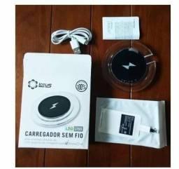 Carregador Wireless Sem Fio Lotus Universal