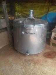Resfriador a granel 500 litros