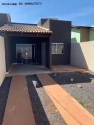 Casa para Venda em Várzea Grande, Paiaguas, 3 dormitórios, 1 suíte, 1 banheiro, 2 vagas