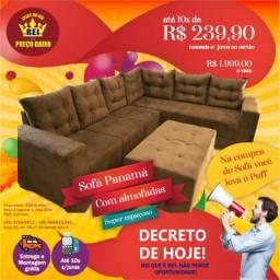 Sofa canto gigante de 2599.00 por 1999.00