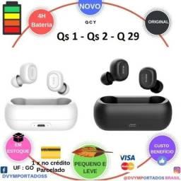 Qcy QS1-QS2-Q29 Dual V5.0 3D Estéreo Bluetooth Microfone Duplo a partir de 135$
