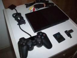 Ps2 Playstation 2 Completo com 24 jogos e 3 meses de garantia