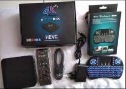 Tv Box 4k completo