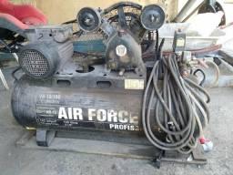 Compressor Air Force 10 pés 100 litros mono fase
