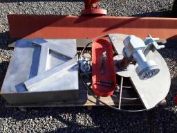 Roçadeira para micro trator Yanmar RF 900 MaquinaFort