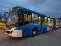 Ônibus bi articulado volvo B12 - 2007 - 2007