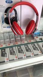 Headphone Com Entrada P/ Cartão e P2
