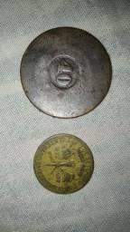 2 moedas antigas