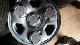 Jg rodas aro 15 ferro ecoesport 2018 zeras com carlotinhas