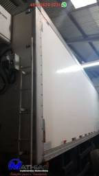 Baú frigorífico gancheiro 7.50m 14 paletes Mathias implementos