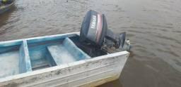 Vendo motor 40hp yamaha com bote completo - 2020