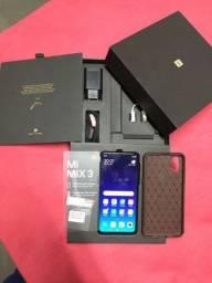 Xiaomi Mi Mix 3 128gb, 6gb em perfeito estado