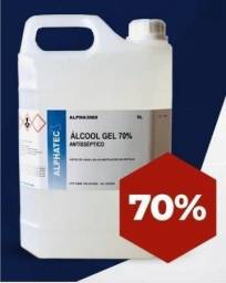 Alcool em gel 70% 5 litros (oferta imperdivel ) para sua casa