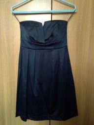 Vestido tqc c&a azul