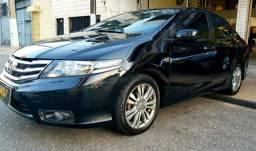 Honda City 1.5 Automático BLINDADO 2014