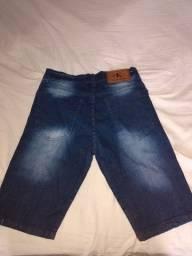 Vendo bermuda jeans