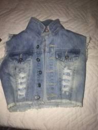 Jaqueta jeans regata