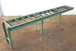 Mesa Roletada para barras em Serra de Fita/ Mecânica
