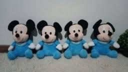 Pelúcias Michey, Minnie e Pluto