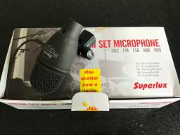 Microfone Bateria Superlux FT 4