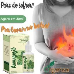 Amargozil- Desconforto Estomacal - Azia - Má  Digestão - Dores no Estômago