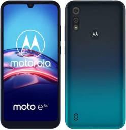 Vendo Motorola E6S novo 2 anos de garantia.
