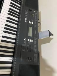 Teclado Yamaha psr e343 (bag + suporte + pedal)