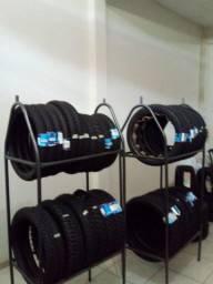 Título do anúncio: Expositor para pneus de moto, super novos!
