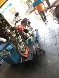 Título do anúncio: Rampa hidráulica para motos
