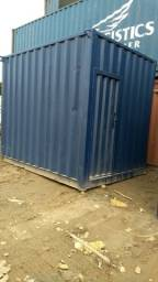Venda de container, caixa metálica BB10', 3mt