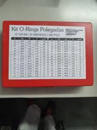 Kit Oring Milímetros ou Polegadas Vedação 428 Anéis 30 Medidas