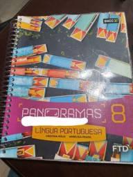 Livro: Panoramas Língua Portuguesa - 8º ano<br><br>