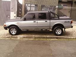 Ford Ranger Xlt 2.5 4pts C. Dupla 99 Completa c/ Man.+Nt. Fiscal+Ch.Cópia+05 Pneus!!
