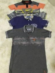 Camisetas semi- novas