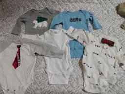 Lote de roupas de 3 a 6 meses