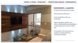 Apartamento Aconchegante - Totalmente Decorado e Mobiliado - Abraão - Florianópolis
