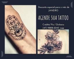 Tattoo promoção JANEIRO e FEV