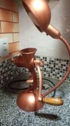 Luminária vintage moinho