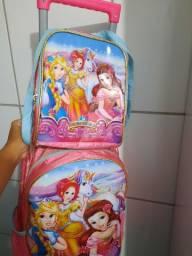 Bolsa de carrinho das princesas