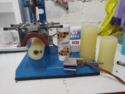 Prensa termica transfer para long drink