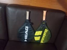 Raquete de Tênis Babolat e Head podem ser vendidas juntas ou separadas