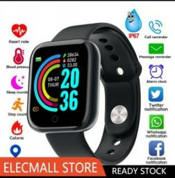 Smartwatch relógio smart com tela hd y68 bluetooth / smart watch D20